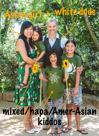 AIM Mixed Race Family